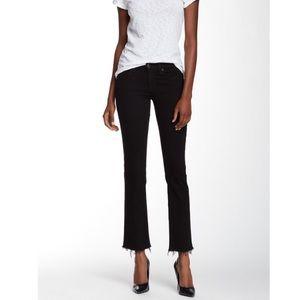 Rag & Bone frayed straight leg jeans